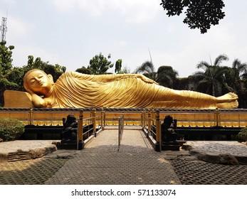Sleeping Buddha, Mojokerto