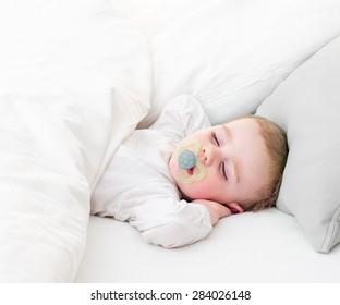 Sleeping cute baby