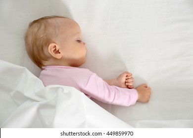 Sleeping cute baby