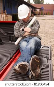 Sleeping engineer