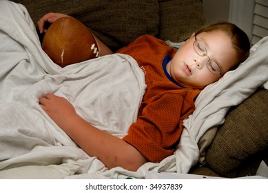 Sleeping with a Football
