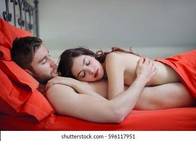 Sleeping lovers