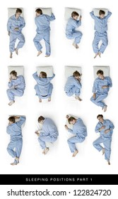 sleeping positions part one