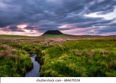 Slemish Mountain at Sunset