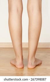 slender legs girl in the back