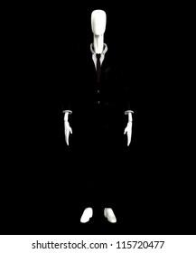 The slender man of internet mythology.