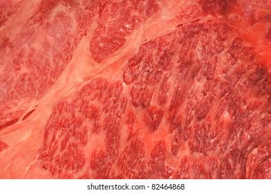 Slice Beef  macro