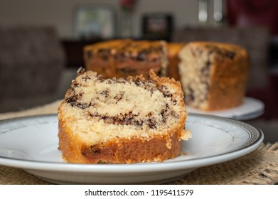 """Slice of a brazilian cake known as """"Formigueiro"""""""
