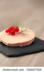 slice of foie gras, festive meal