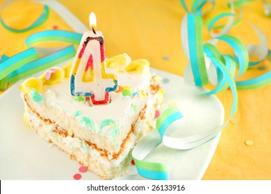 4th Birthday Cake Images Stock Photos Vectors Shutterstock