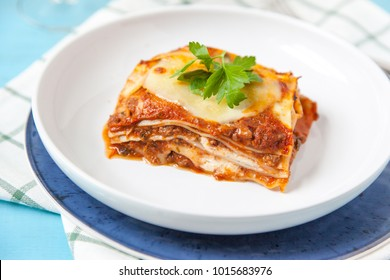 slice of lasagna