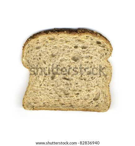 Slice Multigrain Bread Stock Photo Edit Now 82836940 Shutterstock