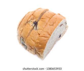 Sliced bread isolated on a white background