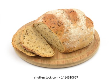 Sliced Bread isolated white background