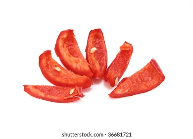 sliced chili