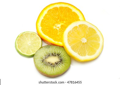 sliced citruses