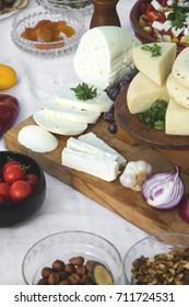 Sliced Fresh Goat Cheese