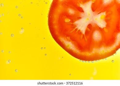 Sliced fruit and veggie