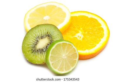 sliced fruits