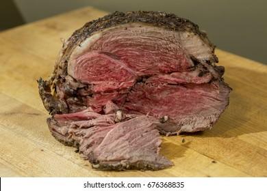 Sliced Rare Beef Roast Meat