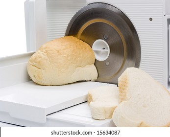 Slicer and bread