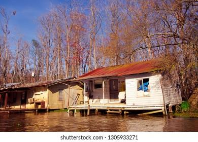 Slidell, St Tammany Parish, Louisiana, USA, fishing camp, March 18, 2005