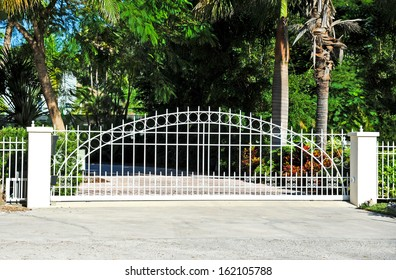 Sliding Residential Security Gate System