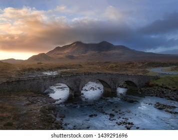 Sligachan on the Isle of Skye, Scotland