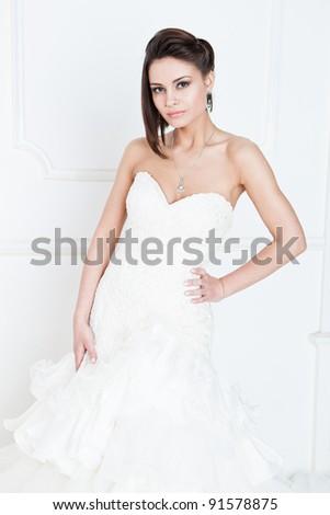 Slim Beautiful Woman Short Hair Wearing Stock Photo Edit Now