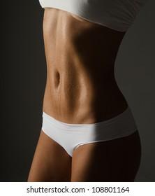 slim body woman