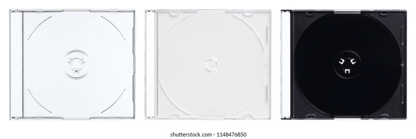 slim disc case, 3 colors, studio photography, edge processed