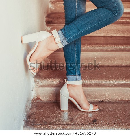 Apologise, but, skinny legs high heels consider