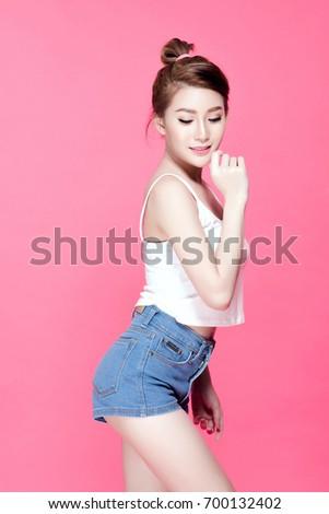 Asian girl finger slim pic 946