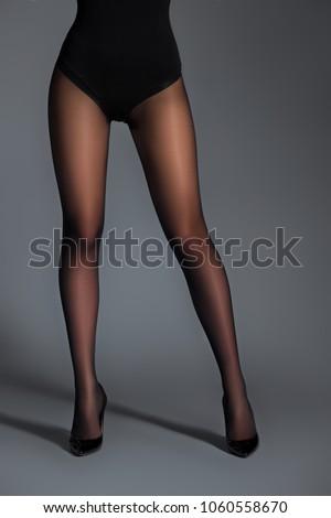 Slim model pantyhose think, that