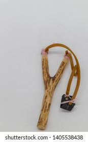 sling shot known as lastik in local language. a retro toy for children