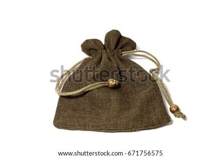 Slipknot cloth bag brown