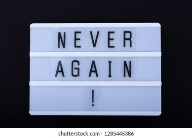 Never Again >> Never Again Images Stock Photos Vectors Shutterstock
