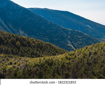 The slopes leading up to Franconia Ridge in the White Mountains of New Hampshire.  This was taken near the AMC Greenleaf Hut on the way up Mount Lafayette