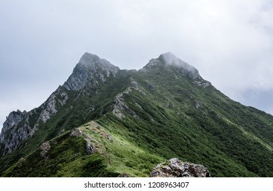 The slopes of the ridge Zhdanko, Sakhalin Island