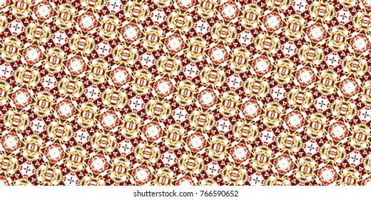 Sloping colorful seamless ornament for design and backgrounds