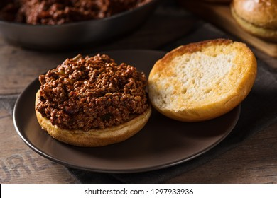 Sloppy Joe - burger with minced meat