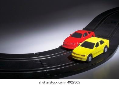 Slot Cars at Night