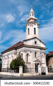 Slovak Evangelical Church in Novi Sad, Serbia.