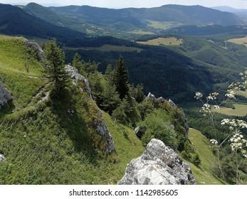 Slovak mountains Strazovske vrchy