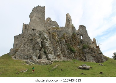 slovak ruins of castles