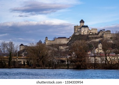 Slovakia castle in the Trencin