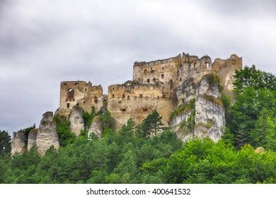 Slovakia old castle - Lietava