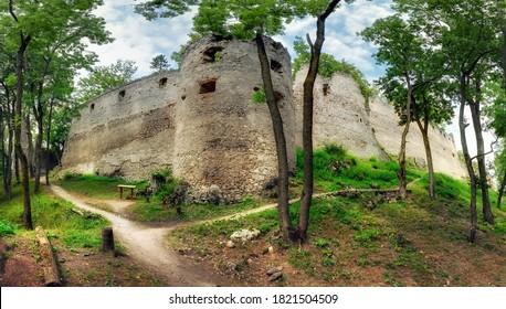 Slovakia - Ruins of castle Dobra Voda - Shutterstock ID 1821504509