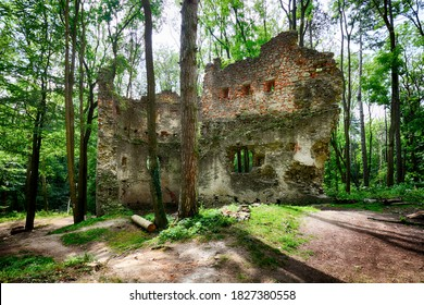 Slovakia - Ruins of castle Dobra Voda - Shutterstock ID 1827380558