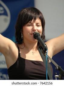 slovakian singer Katka Knechtová - Peha
